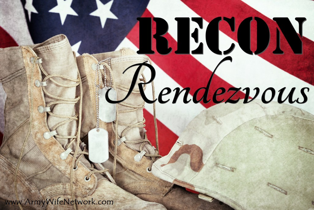 Old Combat Boots, Dog Tags, And Helmet With American Flag
